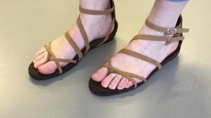 Sandalen model Pearl&Grace5