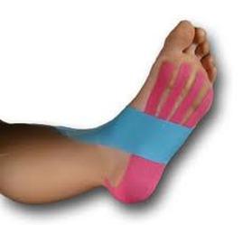 medical taping voeten